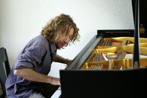 Sebastiaan van Delft - pianist , toetsenist